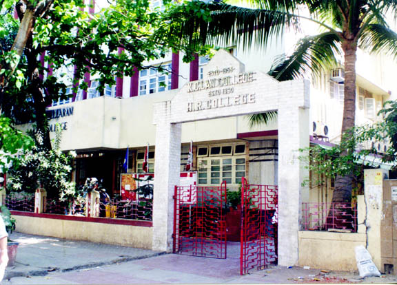 HR College, Mumbai (Hassaram Rijhumal College Of Commerce & Economics)