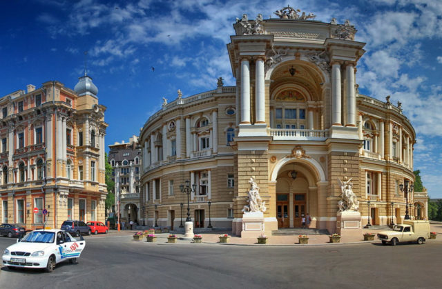 Odessa National Medical University, Ukraine