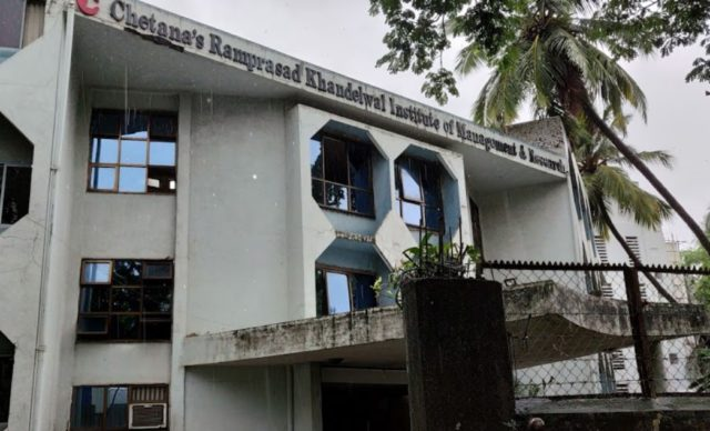 Chetana's Ramprasad Khandelwal Institute of Management and Research