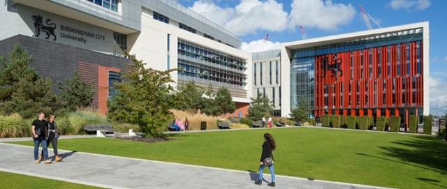Birmingham City University.