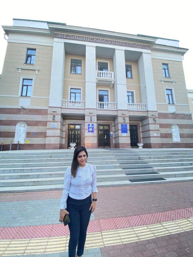 BASHKIR STATE MEDICAL UNIVERSITY,UFA,RUSSIA